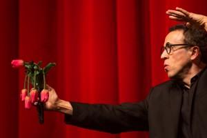 magicien Lelouchier fleurs tulipes
