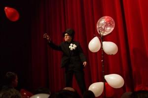 magicien ballons public gala magie